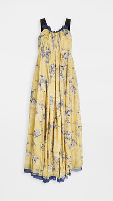 Free People Tropical Toile Maxi Dress