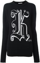 Christopher Kane Kane crew neck sweater - women - Wool - XS