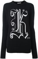 Christopher Kane Kane crew neck sweater