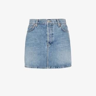 RE/DONE '60s Denim Mini Skirt