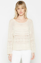 Joie Pallavia Crochet Sweater