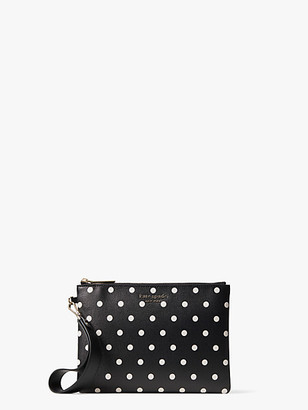 Kate Spade Spencer Cabana Dot Small Pouch Wristlet