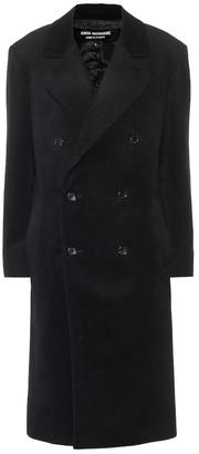 Junya Watanabe Angora and wool coat
