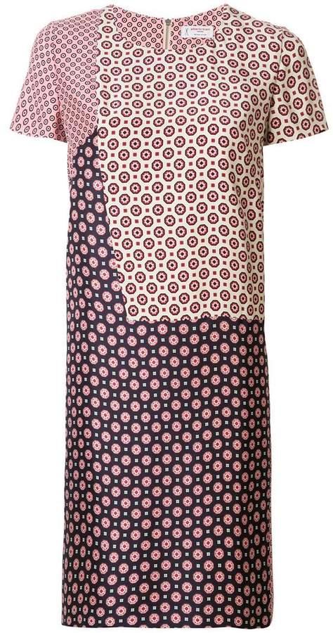 Alberto Biani panelled shift dress