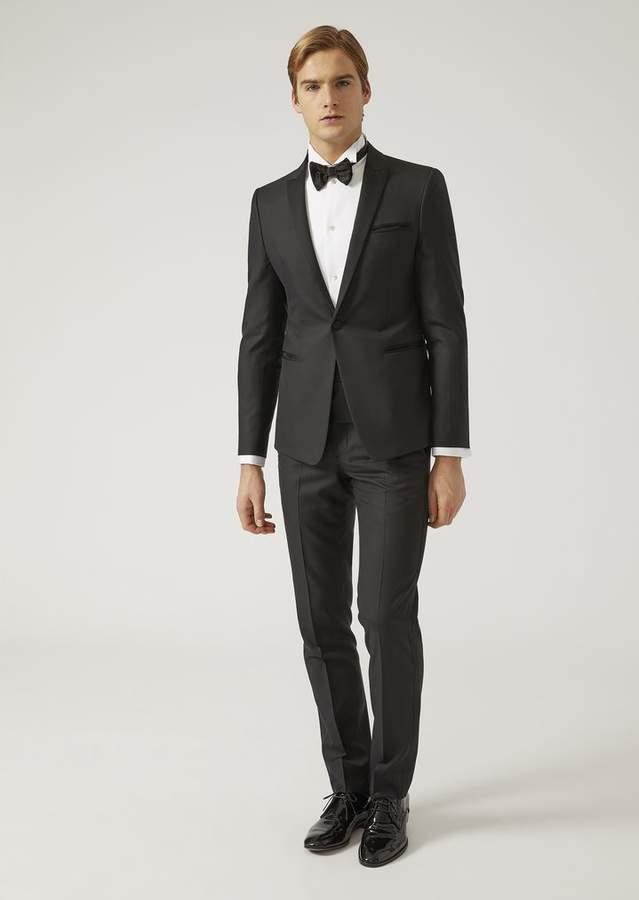 Emporio Armani Tropical Wool Formal Suit