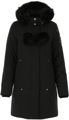Moose Knuckles Hooded Zipped Parka