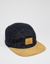 Asos 5 Panel Cap In Check