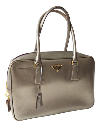 Prada saffiano Metallic Leather Handbags