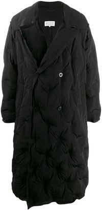 Maison Margiela Oversized Quilted Trench Coat