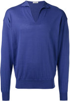 Boglioli v-neck jumper - men - Silk/Cotton - XL