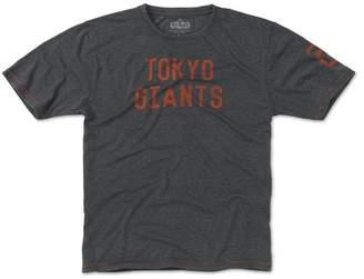 Red Jacket Professional Baseball Leauge Yomiuri Giants Short Sleeve T-Shirt