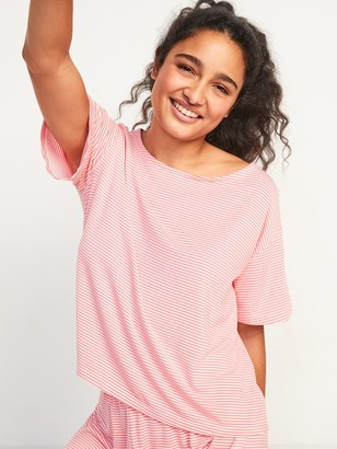 Old Navy Loose Sunday Sleep Ultra-Soft Pajama Top for Women