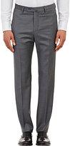 Incotex Men's B-Body Classic-Fit Wool Trousers-GREY