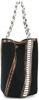 Proenza Schouler python embossed bucket bag - women - Cotton/Leather - One Size