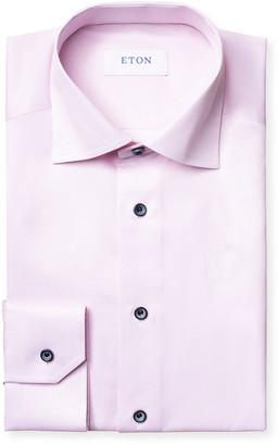 Eton Men's Slim-Fit Dress Shirt w/ Piping