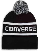 Converse Wordmark Pom Beanie