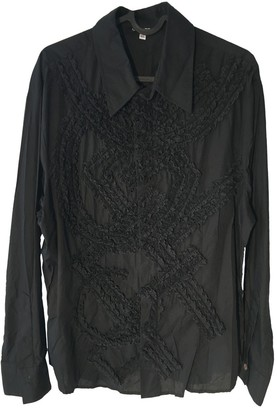 Gianfranco Ferre Black Cotton Top for Women