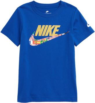 Nike World Futura Logo Graphic Tee