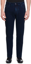 Stefano Ricci Five-Pocket Slim-Fit Denim Jeans, Denim