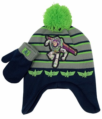 Accessory Supply Toy Story Winter Trapper Hat and Glove Set Ages 2-5 Blue