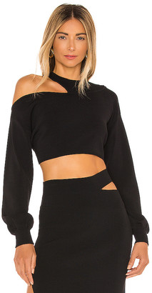 Michael Costello x REVOLVE Asym Cut Out Dolman Sweater