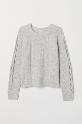 H&M Cable-knit Sweater