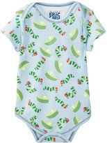 Beanstalx Leaf Toss Short Sleeve Bodysuit (Baby Boys)