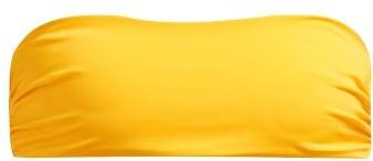 Mara Hoffman Abigail Bandeau Bikini Top - Womens - Yellow