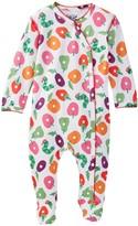 Beanstalx Fruit Toss Kimono Playsuit Footie (Baby Girls)