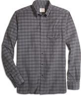 Brooks Brothers Plaid Corduroy Sport Shirt