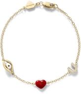 Alison Lou Eye Love You Charm Bracelet