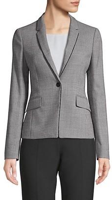 HUGO BOSS Jorita Classic Textured Blazer