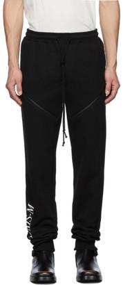 Christian Dada Black Zip Lounge Pants