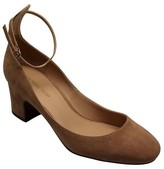 Women's Angelique Microsuede Quarter Strap Pumps - Who What Wear
