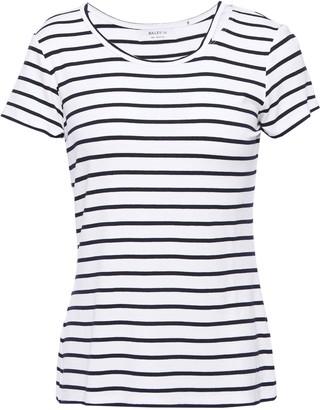 Bailey 44 Cutout Striped Jersey T-shirt