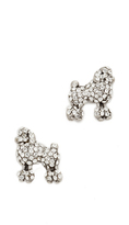 Marc Jacobs Mini Poodle Stud Earrings