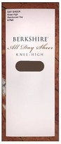 Berkshire Queen All Day Sheer Knee Highs 6-Pack