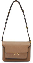 Marni Brown Small Trunk Bag