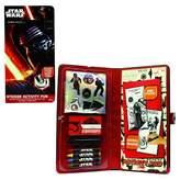 Star Wars The Force Awakens Sticker Activity Fun Portfolio - Multi-Colored