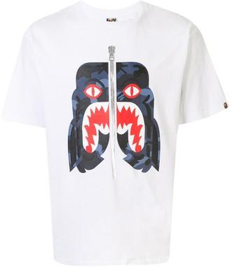 A Bathing Ape tiger print T-shirt