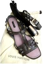 Louis Vuitton Brown Sandals