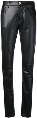 Paco Rabanne Wet-Look Trousers