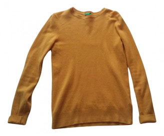 Benetton Yellow Wool Knitwear