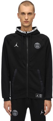 Nike Psg Cotton Blend Sweatshirt Hoodie