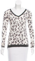 Rebecca Taylor Long Sleeve V-Neck Sweater w/ Tags