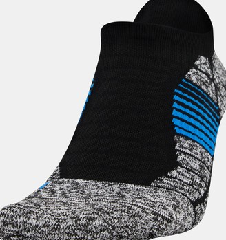Under Armour Men's UA Elevated+ Performance No Show Socks 3-Pack