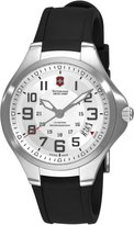 Victorinox Men's Base Camp 241332 Black Rubber Swiss Quartz Watch with Dial