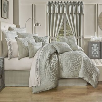 J Queen New York Nouveau California King 4-Piece Comforter Set in Spa