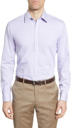 Ted Baker Sunray Trim Fit Stretch Dress Shirt