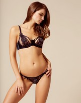 Agent Provocateur Arabella Thong Navy